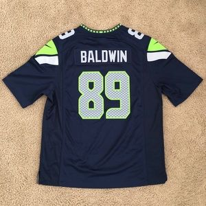 Seahawks (Doug Baldwin) On Field jersey XL